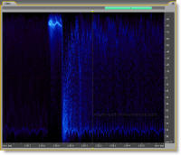 Adobe Audition 2.0 Spectral Pan Display