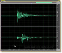 Adobe Audition 2.0 Waveform Display