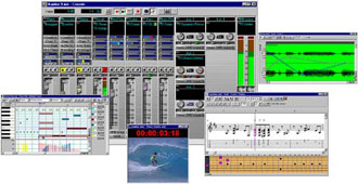 cakewalk pro screens
