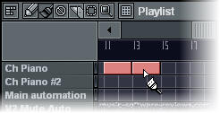 Fruity Loops FL Studio 6 - Screenshot Paint Track