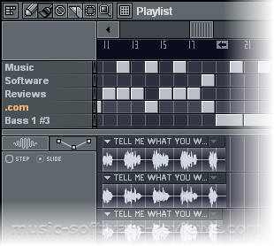 Fruity Loops FL Studio 6 - Screenshot Playlist