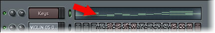 Fruity Loops FL Studio 6 - Screenshot Piano Roll