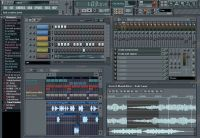 Fruity Loops FL Studio 5.0 screen