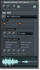 Fruity Loops FL Studio 6 Audio Clip Generator