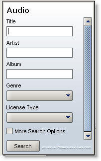 Limewire 4.1 Search Options
