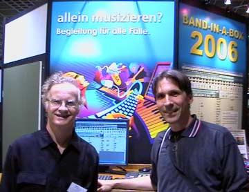Musikmesse Frankfurt 2006 Peter Gannon and me