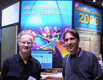 Musikmesse Frankfurt 2006 Peter Gannon and me