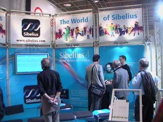 Musikmesse Frankfurt 2006 Sibelius 4 presentation