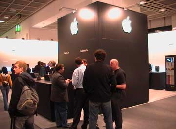 Musikmesse Frankfurt 2006 Apple booth