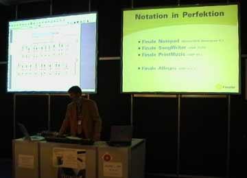 Musikmesse Frankfurt 2006 Finale 2006 presentation