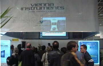 Musikmesse Frankfurt Vienna Instruments booth