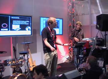 Musikmesse Frankfurt 2006 Native Instruments introduces KORE